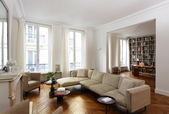 Architecture intérieure projet lelong paris gfl architecture Gaëlle Féat Lissillour architecte Paris