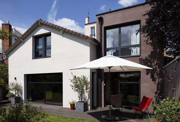 Architecture intérieure Bois Colombes paris gfl architecture architecte paris Gaëlle Féat Lissillour architecte Paris