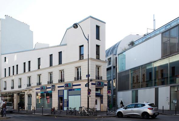 Architecture intérieure Gambetta paris Gaëlle Féat Lissillour architecte gfl architecture paris